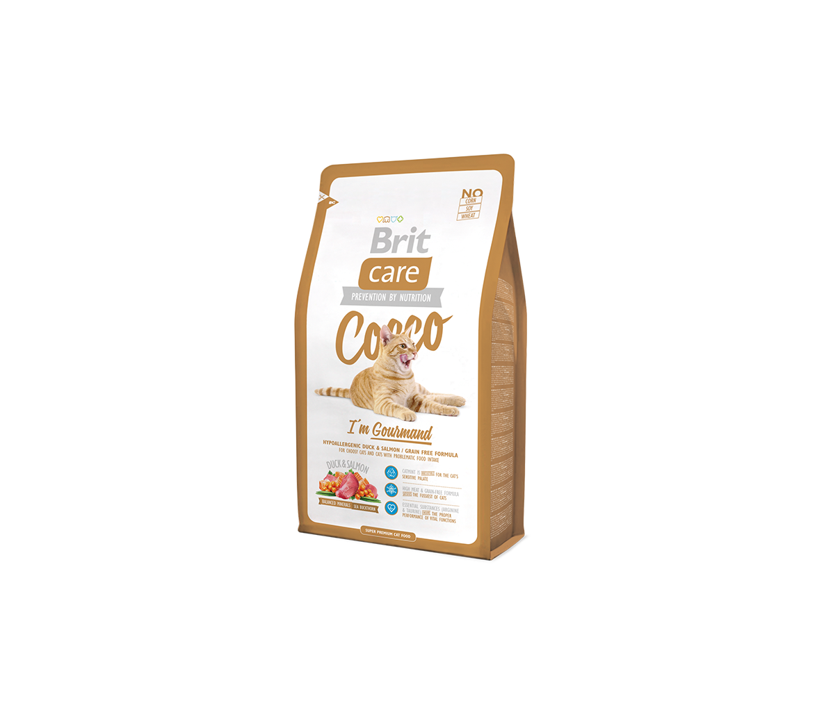AKCIJA 50% Brit Care Cat Cocco Gourmand s.m. katėms 400g