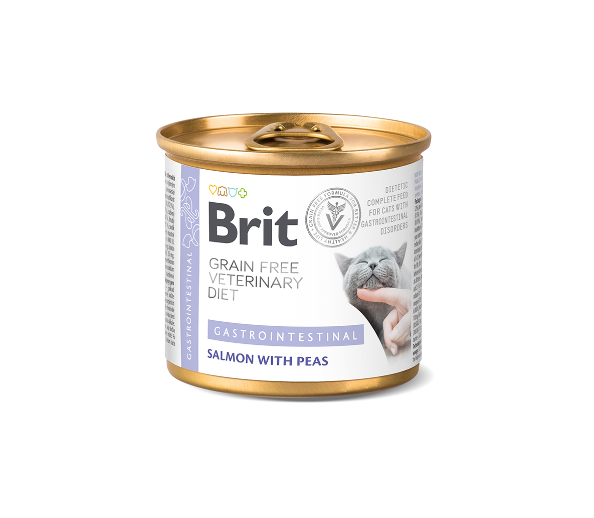 Brit GF Veterinary Diets kons. katėms Gastrointestinal 200g