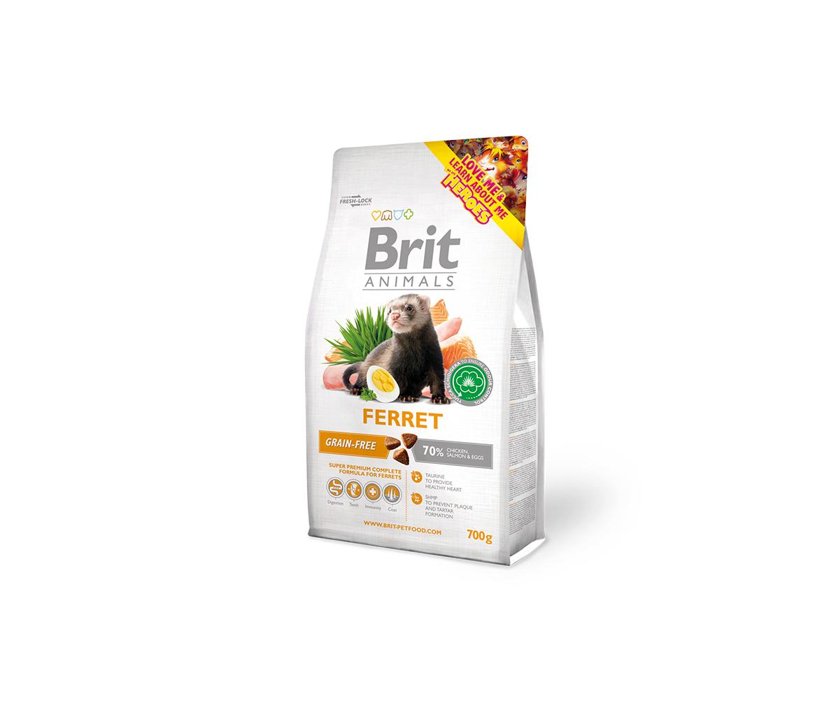 Brit Animals maistas šeškams 700g